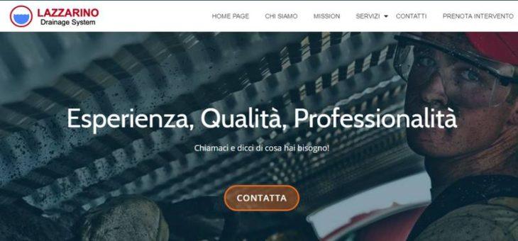 Nuovo sito web Lazzarino Drainage System s.a.s.